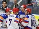 Россия уверенно по счету обыграла Данию на ЧМ-2015