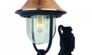 Уличные светильники применяются повсеместно
