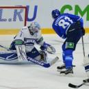 «Барыс» и московское «Динамо» порезвились
