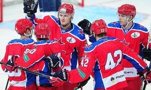 ЦСКА выигрывает Кубок Открытия КХЛ у СКА